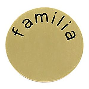 Picture of 'Familia' Large Gold Coin
